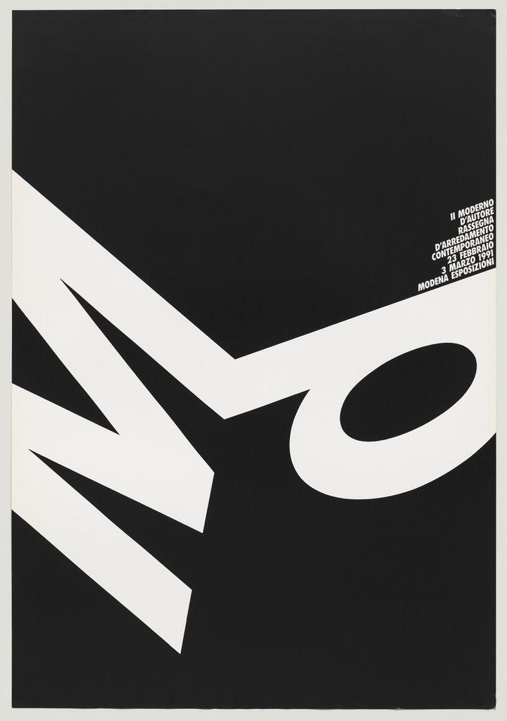 Ag fronzoni le origini della grafica minimalista in italia