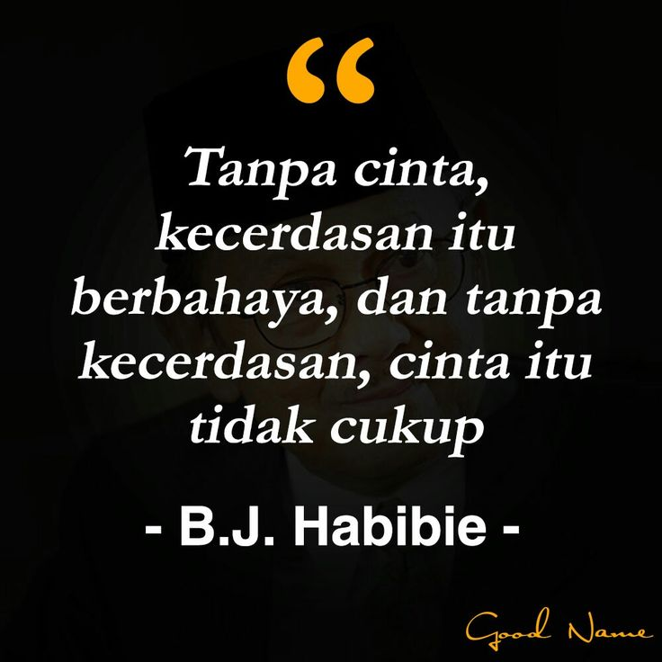 Quotes BJ Habibie