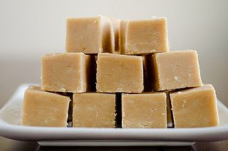 microwave peanut butter fudge (same ingredients that i use)