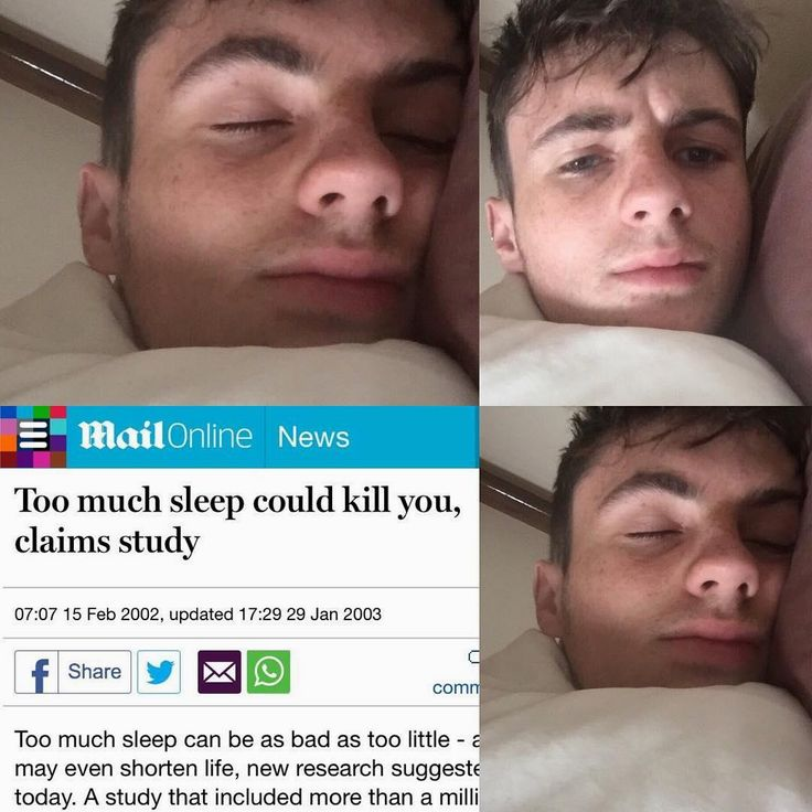 That won't stop me from sleeping