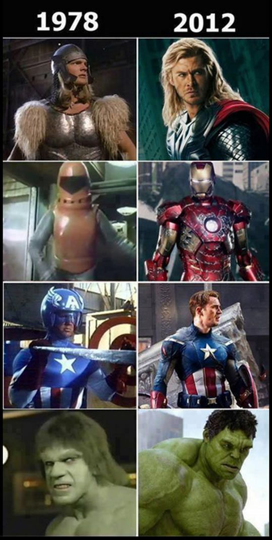 Did they even try with Iron Man?