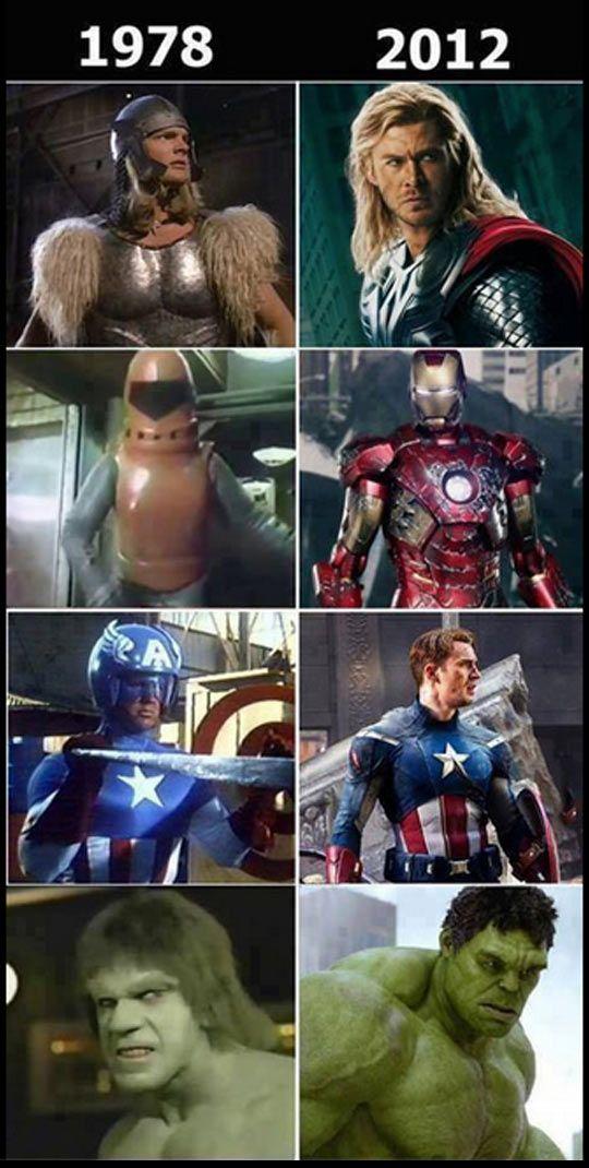 Old Captain America Meme