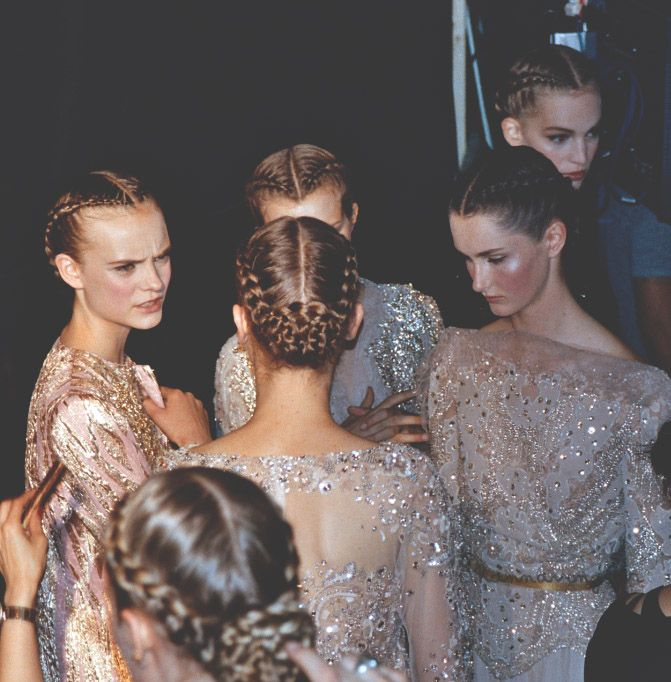 { elie saab haute couture f/w 2012, backstage byphannavong sar }