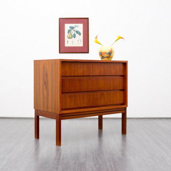60er jahre teak sideboard skandinavischer stil karlsruhe. Black Bedroom Furniture Sets. Home Design Ideas