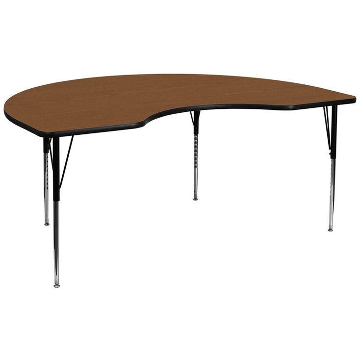 Flash Furniture XU A4896 KIDNY OAK H A GG 48u0027u0027