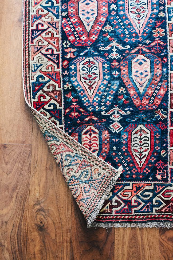 Antique rug.