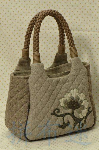 handmade corner: 0250(材料包/DIY Kit) - 古典MOLA手提袋/ MOLA Handbag