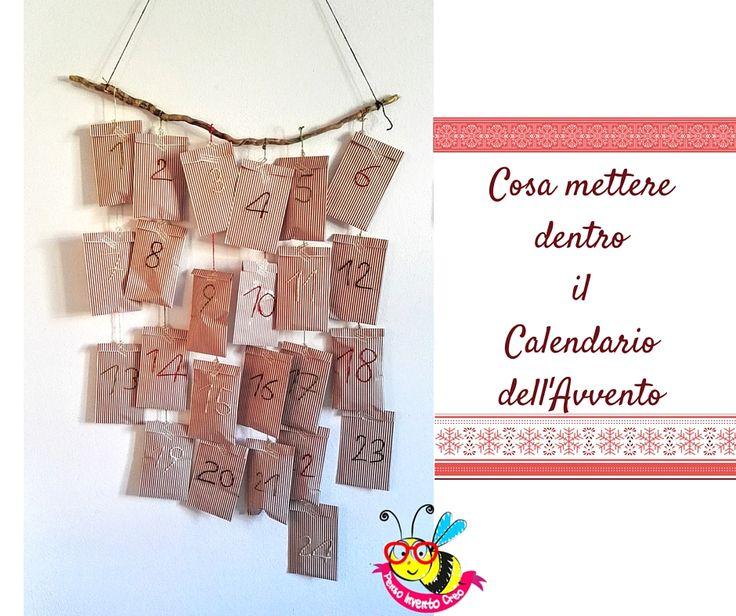 #advent #calendar Cosa mettere dentro il Calendario dell'Avvento: raccolta di idee low cost e fai da te