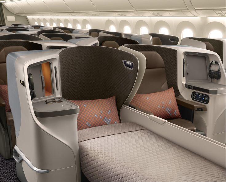 Singapore Airlines dévoile les cabines de son 787-10