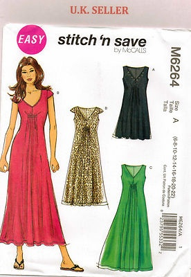 I've bought this pattern - so going to have a go making it up soon. From UK Sewing Dressmaking Pattern Lady's 6-22 Dress #6264