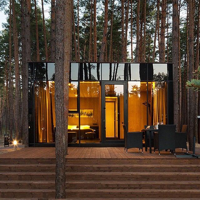 Verholy Guest Houses By Studio YOD Design Lab: Reflecting Its Serene Pine  Forest Surroundings, Studio YOD Design Labu0027s Guest House Designs For Relax  Park ...
