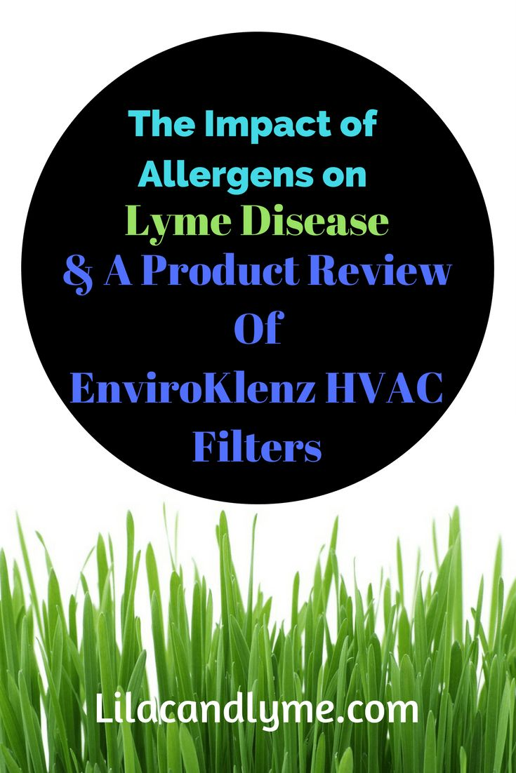 Best furnace air filters for allergies - The Impact Of Allergens On Lyme Disease And A Product Review Of Enviroklnez Hvac Filters