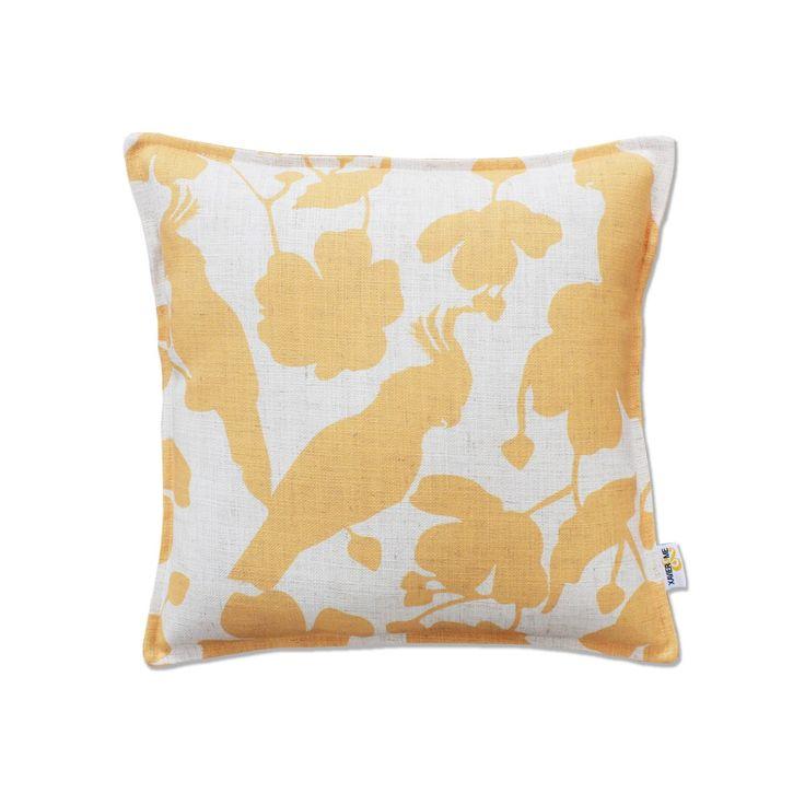 Tropical Cushion - Yellow | $125.00