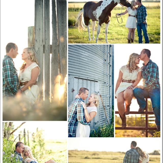 Farm engagement pics