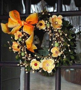 DIY Wreath | Spring Crafts | DIY Spring Wreath | Home Decor Ideas — Country Woman Magazine