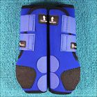 LARGE BLUE CLASSIC EQUINE LEGACY SYSTEM HORSE HIND LEG SPORT BOOT PAIR - http://pets.goshoppins.com/horse-supplies/large-blue-classic-equine-legacy-system-horse-hind-leg-sport-boot-pair/