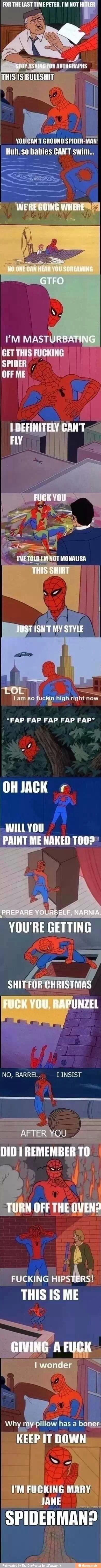Spidey humor