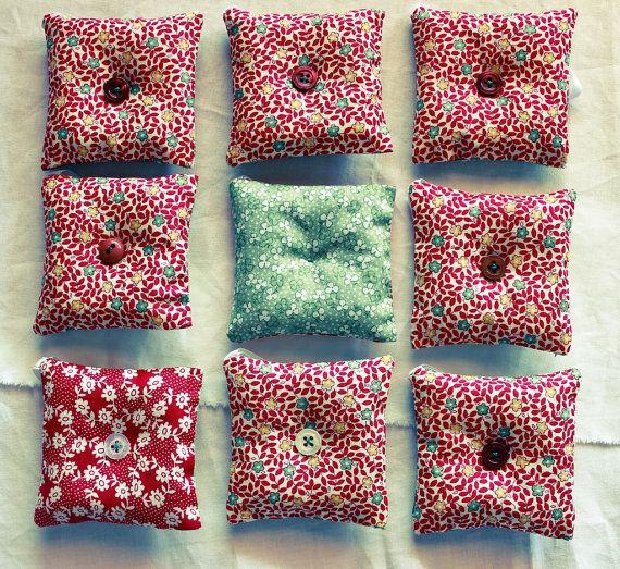 Lavender sachet / Christmas ornament / Little pillow by Zarkadia, €5.00