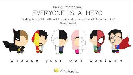 Superhero, Ramadhan Quote