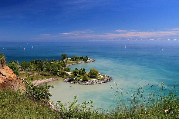 Bluffer's Park Marina in Scarborough Ontario..it is quite beautiful