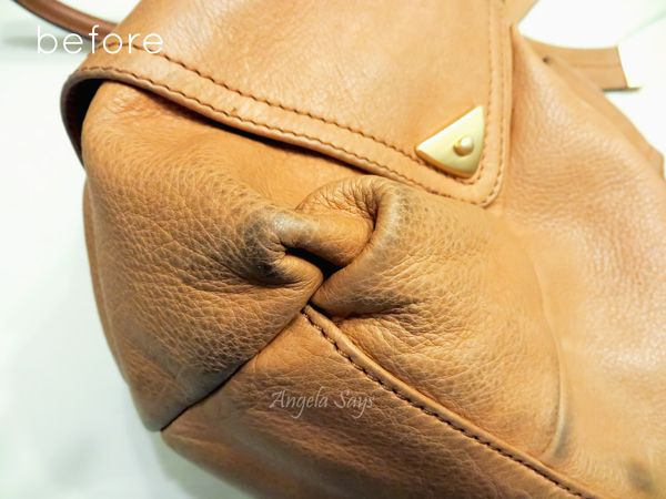 How to Clean a Leather Purse - Angela Says