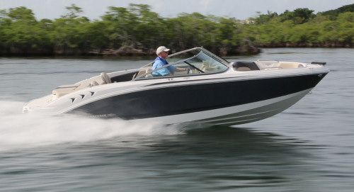 Chaparral H2O 21 Ski & Fish: The new H2O 21 Ski & Fish is equipped to be an effective -- and stylish -- dual console, dual-purpose boat for the whole family at a reasonable price.