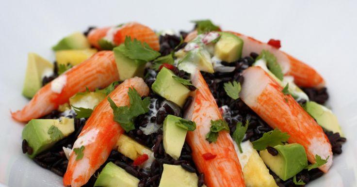 Recette - Salade chic au surimi | Notée 5/5