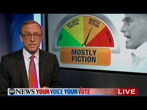 "Mitt Romney's Debate Performance: ""Mostly Fiction"""