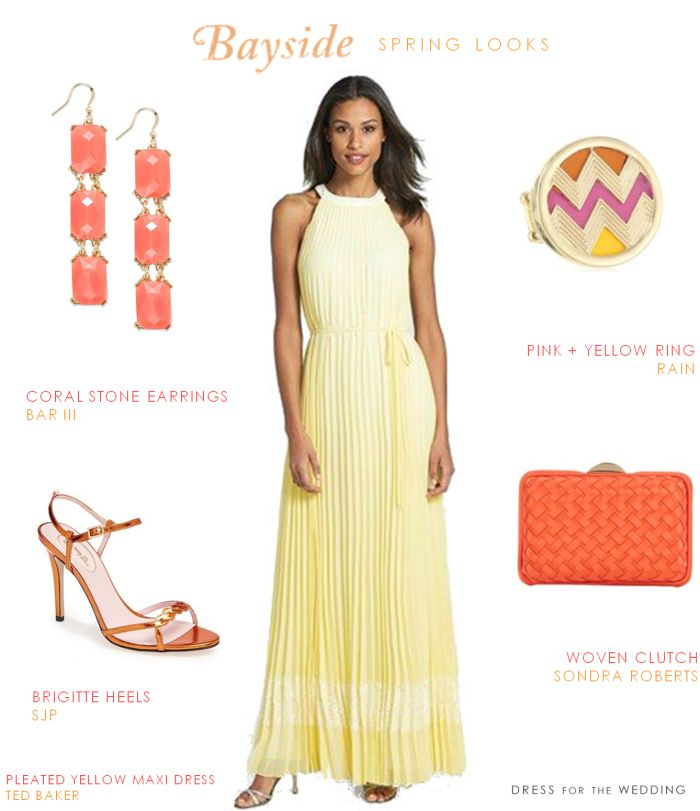 1000 images about beach wedding guest on pinterest for Yellow maxi dress for wedding