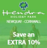 Hendra Holiday Park in Cornwall offers Rewards For Forces members an extra 10% off.  Just quote our discount code when you book.  You access this and all our other discount codes by joining us for free on our website.