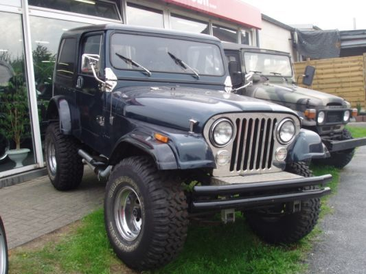 Black Jeep Cj7 black jeep cj7 lifted
