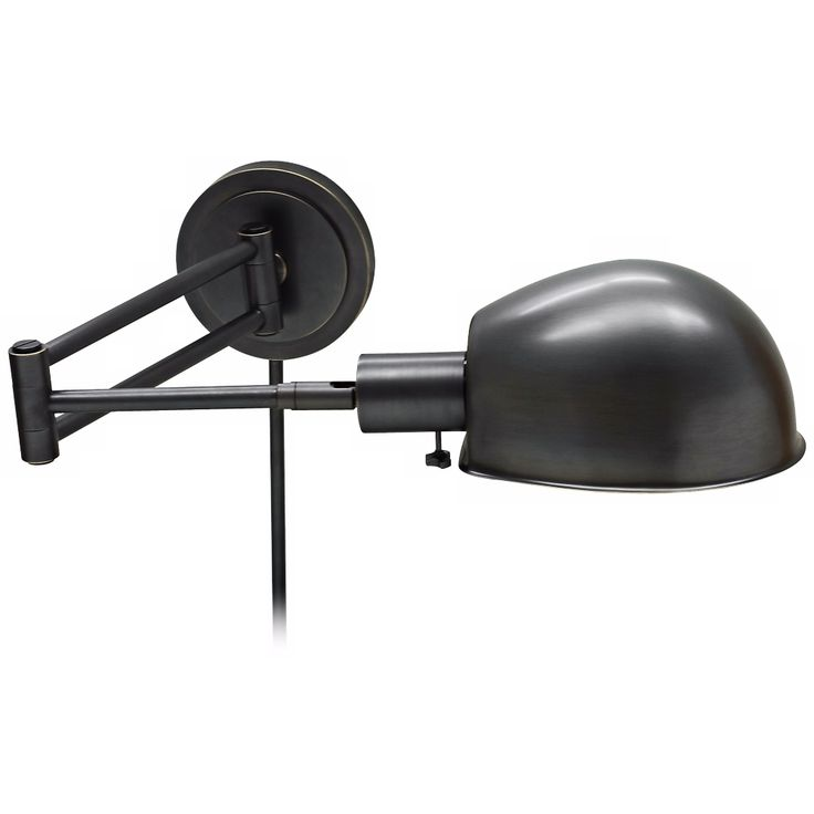 House of Troy Addison Bronze Swing Arm Wall Lamp - Style # X5579