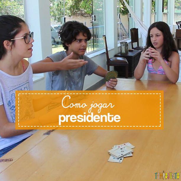 Aprenda como jogar Presidente, uma ótima jogo de cartas para crianças mais velhas, a partir de 9 anos.
