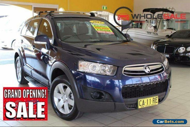 2012 Holden Captiva CG Series II MY12 7 SX Dark Blue Automatic A Wagon #holden #captiva #forsale #australia