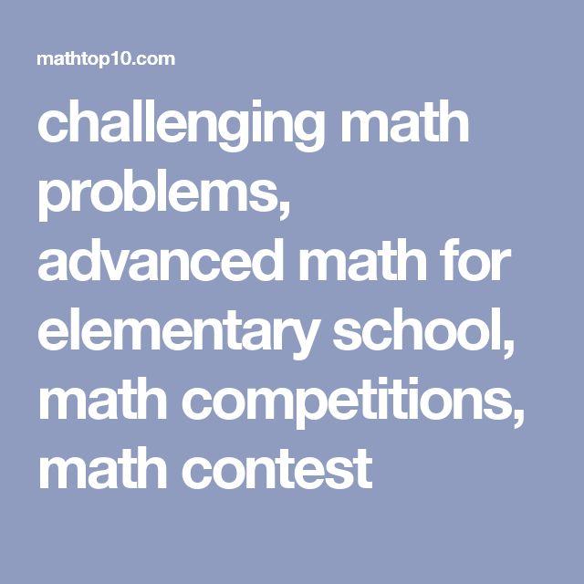 Comprehensive Contests