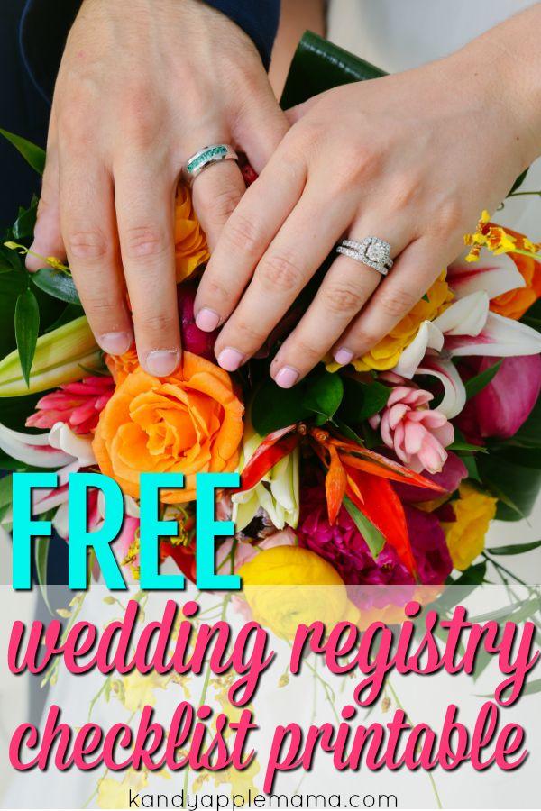 Best 25 wedding registry checklist ideas on pinterest wedding wedding registry the best place to register a registry checklist junglespirit Image collections