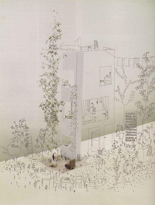 JUNYA ISHIGAMI  ROW HOUSE IN TOKYO, 2005