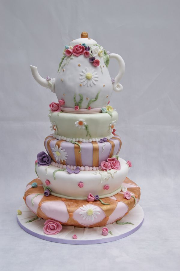 59 best kitchen tea bridal shower cakes images on for Bridal shower kitchen tea ideas