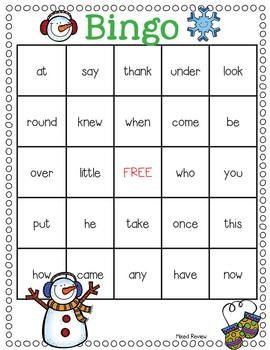 Love Bug Sight Word Games- 4 sight word games featuring the Dolch Pre-Primer, Primer, and First Grade words. $