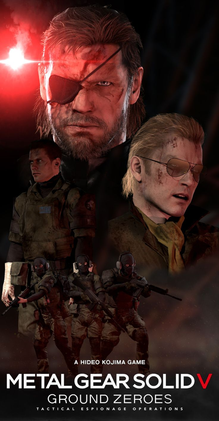 f1ng3rs:GROUND ZEROES poster by SuperNinjaNub