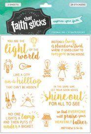 Faith that Sticks: Stickers Matthew 5:14-16   -
