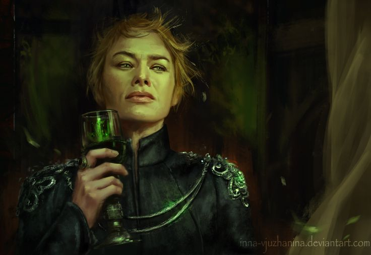 "inna-vjuzhanina: "" Had to paint out the feels! Cersei, you go, girl! GoT completely emotionally destroyed me with the last episode, had to paint it out before it tore me from inside. Many more powerful moments from the last episode, but had time to..."