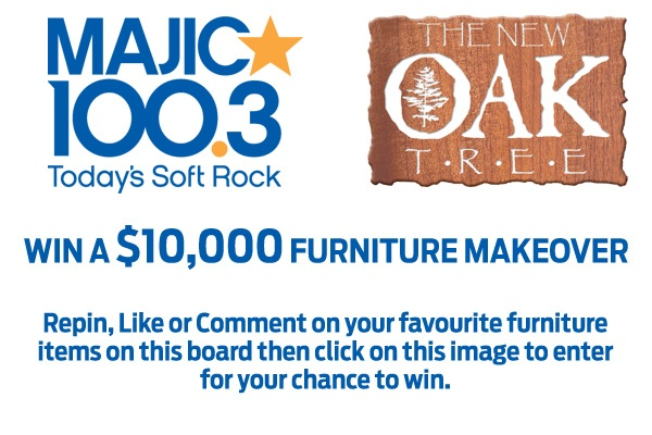 WIN A FURNITURE MAKEOVER. Repin, Like or Comment on your favourite furniture items on this board then click on this image to enter  for your chance to win.