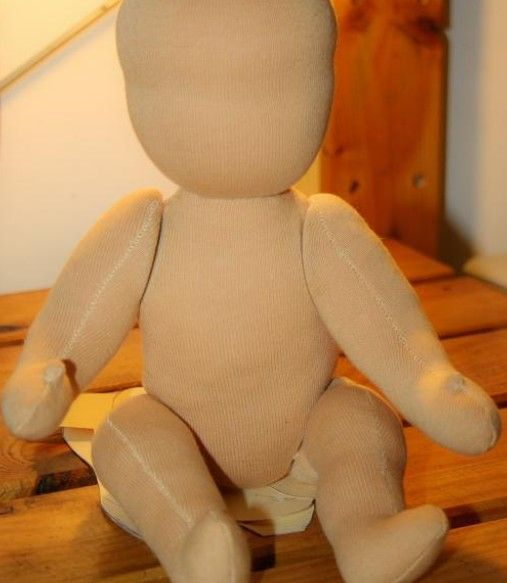 Manual to make Waldorf dolls: the doll's body with jointed limbs
