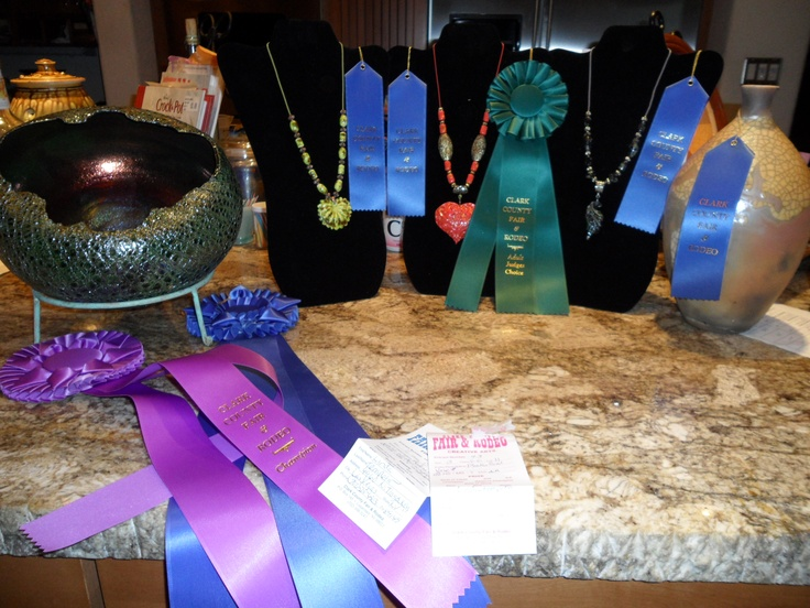 My Awards from The Clark County Fair In Logandale, NV