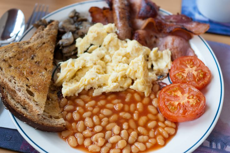 Full English Breakfast | British foods and traditions | Pinterest