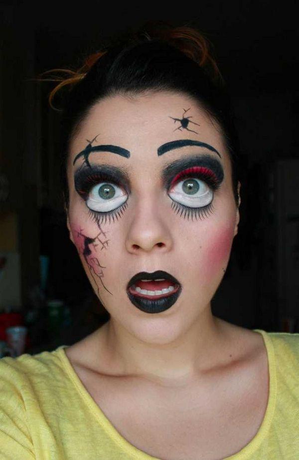 139 best creepy halloween looks images on Pinterest   Make up ...
