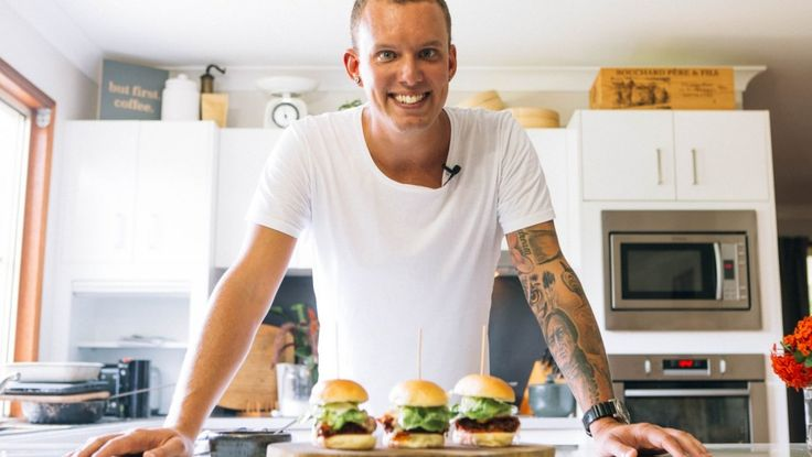 MasterChef runner-up Matt Sinclair's fried chicken parma sliders recipe
