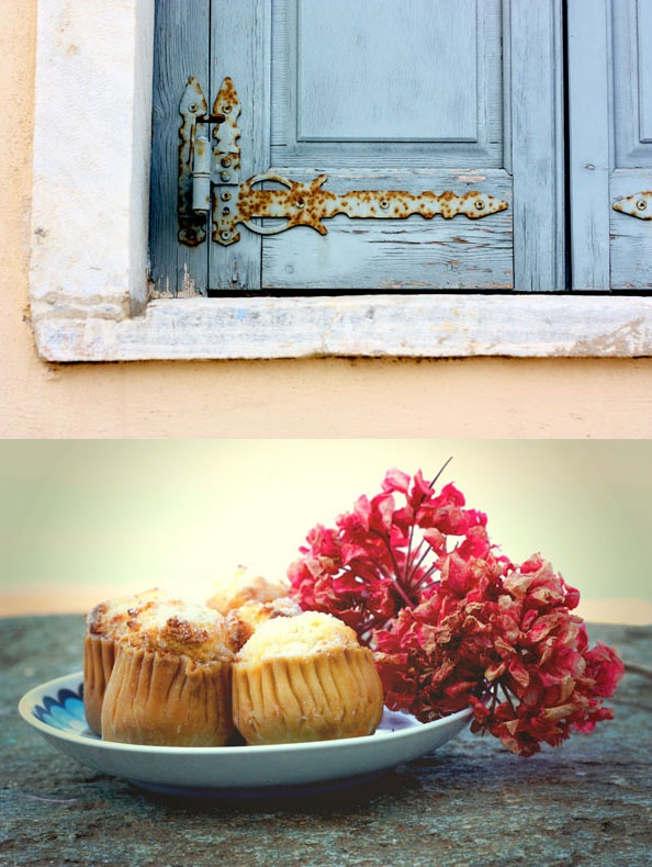 Visit Greece| #Tinos #island #Greece...love those sweets seen in the plate called TYROPITAKIA....Yummy!!!