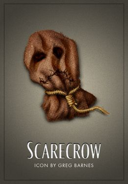 Greg Barnes' Rogues Gallery: Scarecrow